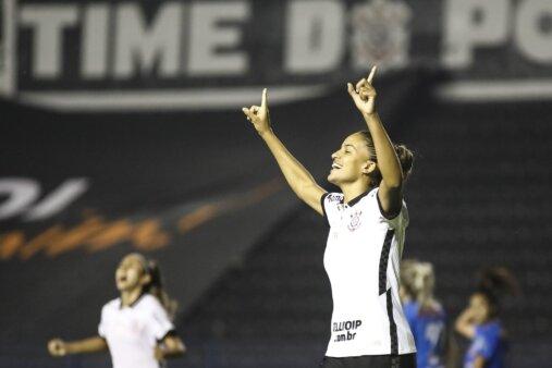 Gabi Nunes artilheira Corinthians Brasileirão Feminino