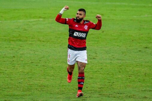 Gabigol Flamengo x Union La Calera
