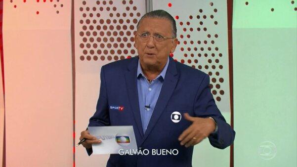 Galvão Bueno, Globo