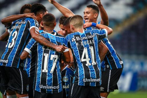 Grêmio x La Equidad - Escalação do Grêmio