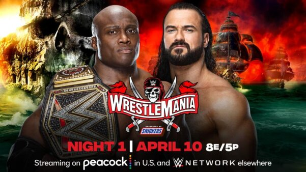 Onde assistir e card WrestleMania 37