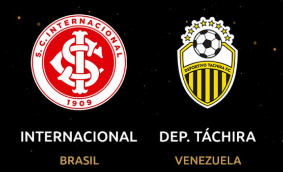 Internacional x Deportivo Táchira ao vivo