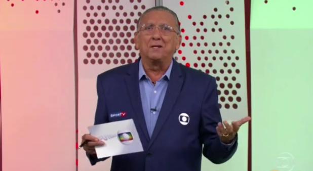Galvão Bueno falou sobre o Brasil.