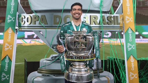 Abel Ferreira está em alta no Palmeiras.