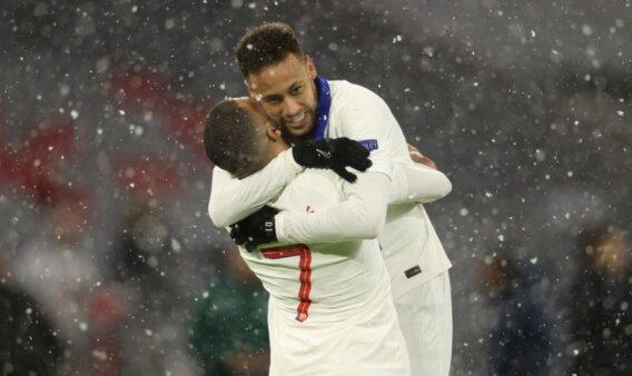 Neymar e Mbappé no PSG