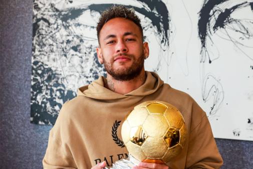 Neymar ganhou prêmio importante.