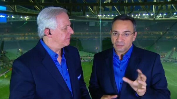 Noriega, SporTV, Palmeiras