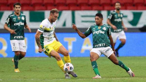 Palmeiras foi derrotado na Recopa.