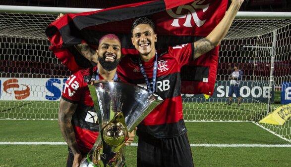 Pedro e Gabigol são opções no ataque do Flamengo.