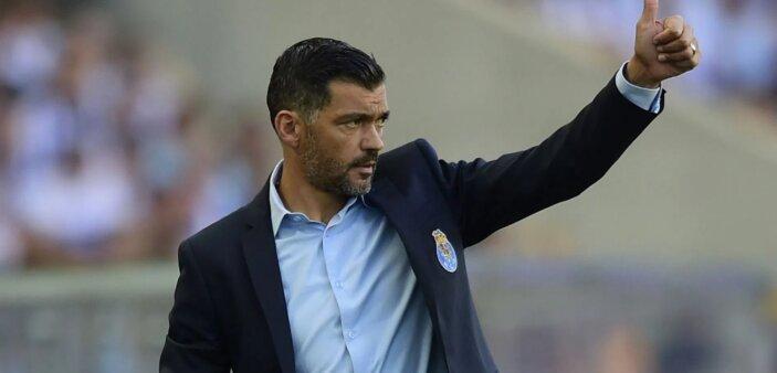 Sérgio Conceição em ação pelo Porto