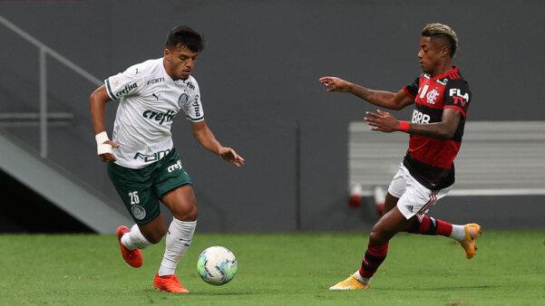 Palmeiras vai encarar o Flamengo na Supercopa do Brasil.