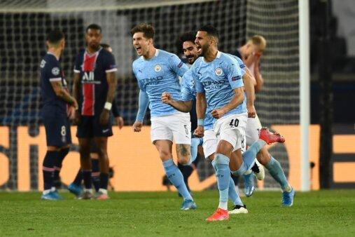 PSG x Manchester City - Escalação - Champions