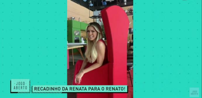Renata Fan não perdoou eliminação do Grêmio.