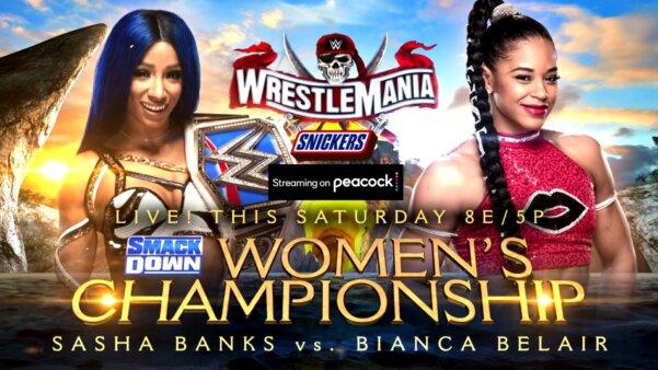 Resultados WrestleMania 37 primeira noite AO VIVO