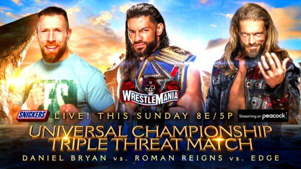 Resultados WrestleMania 37 segunda noite