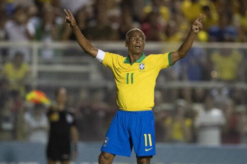 Romário marcou época na Seleção.