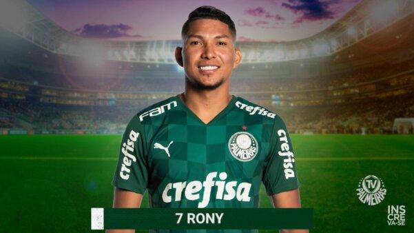 Rony, Palmeiras