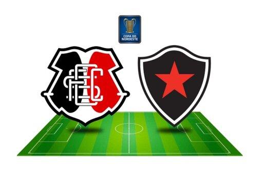 Como assistir Santa Cruz x Botafogo-PB AO VIVO pela Copa do Nordeste (Imagem: Reprodução/ Arte: Adriano Oliveira)