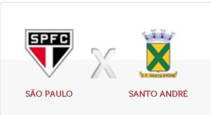 São Paulo x Santo André ao vivo