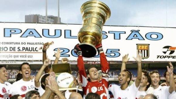 Sao Paulo campeão paulista 2005