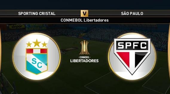 Sporting Cristal-x São Paulo