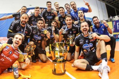 Taubaté vence o Minas e é bicampeão da Superliga