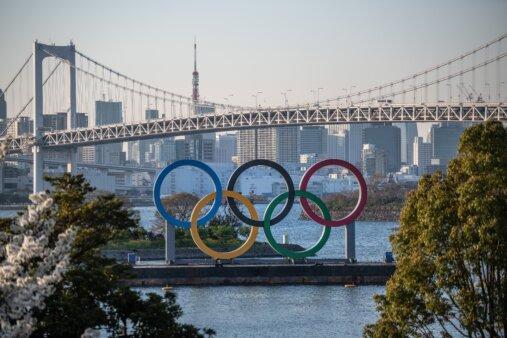 Olimpíadas vão ocorrer em Tóquio.