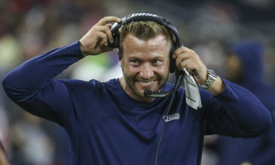 Sean McVay, Head Coach do Los Angeles Rams