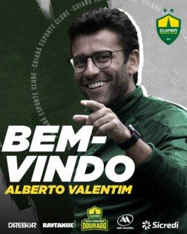 Alberto Valentim novo técnico do Cuiabá