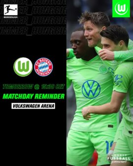 Wolfsburg x Bayern de Munique guia