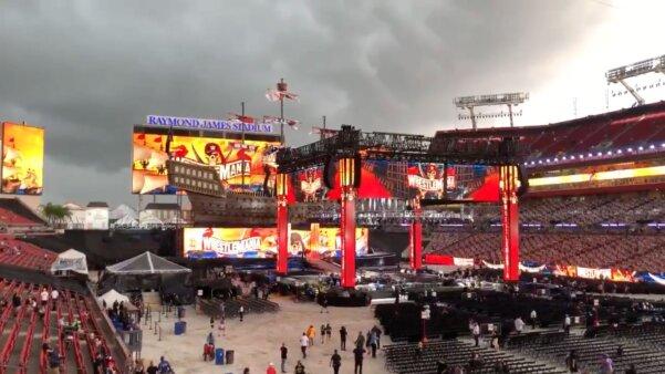 WrestleMania 37 chuva segunda noite