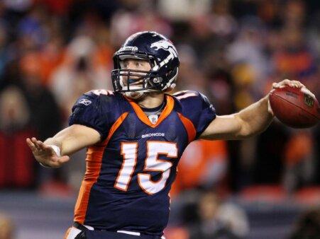 Tim Tebow, ex-quarterback do Denver Broncos