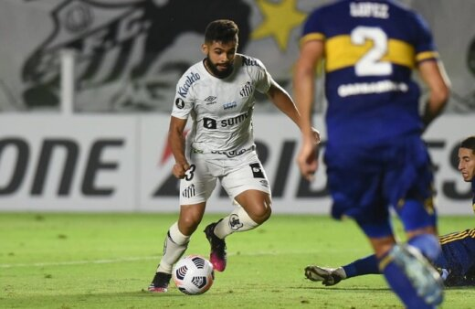 Santos 1 x 0 Boca Juniors, pela Copa Libertadores de 2021 (Foto: Ivan Storti/ Reprodução/ Flickr oficial do Santos FC)