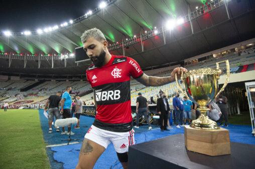 Gabigol em Flamengo x Fluminense