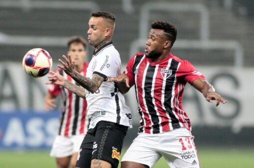 Luan em Corinthians x São Paulo