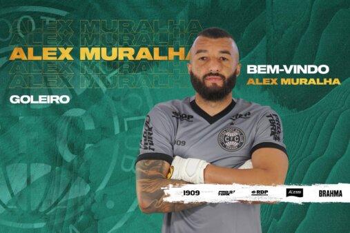 Muralha é anunciado como reforço do Coritiba