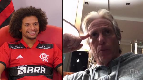 Arão foi peça-chave no Flamengo de Jesus.