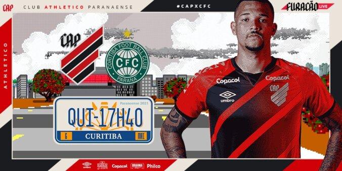Assistir Athletico Paranaense x Coritiba AO VIVO