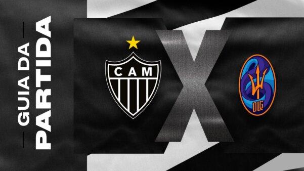 Atlético-MG x La Guaira guia