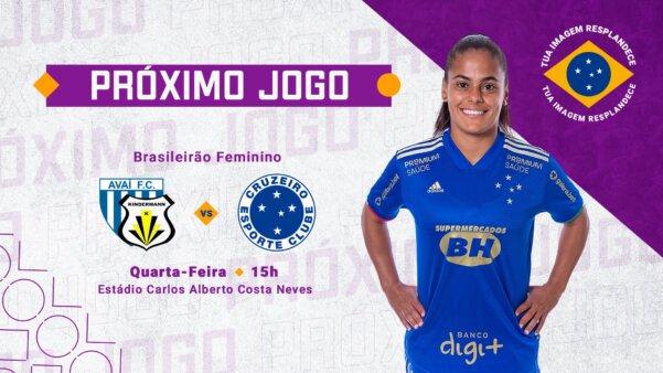 Assistir Avaí/Kindermann x Cruzeiro Brasileirão Feminino AO VIVO