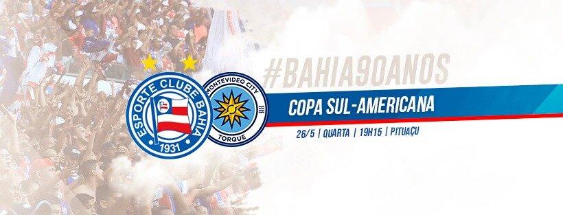 Bahia x Montevideo City Torqueguia