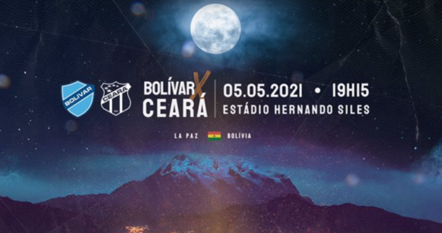 Bolívar x Ceará ao vivo