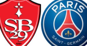 Brest x PSG ao vivo
