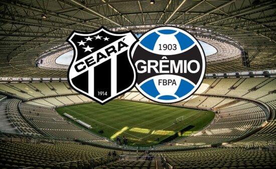 Ceará x Grêmio AO VIVO pelo Campeonato Brasileiro - Foto: Arena Castelão/ Reprodução (Arte: Adriano Oliveira)