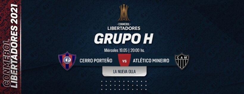 Cerro Porteño x Atlético-MG guia