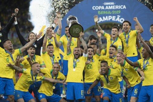 Copa América, Brasil