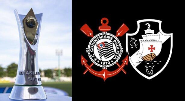 Corinthians x Vasco AO VIVO pelo Campeonato Brasileiro Sub-17 - Foto: Thais Magalhães/ CBF (Arte: Adriano Oliveira)