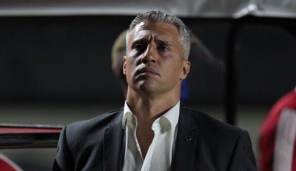Crespo foi criticado por organizada do São Paulo.