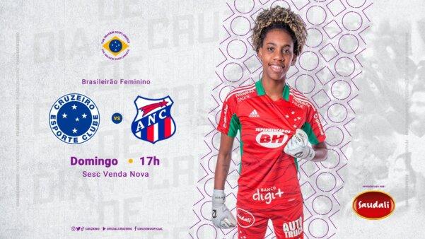 Assistir Cruzeiro x Napoli-SC Brasileirão Feminino AO VIVO