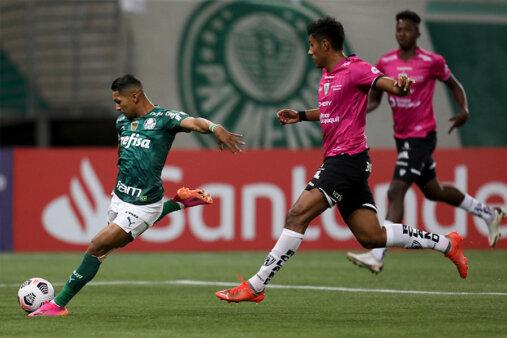 Tempo real de Defensa y Justicia x Palmeiras Libertadores AO VIVO
